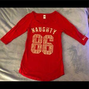 Victoria's Secret Naughty Christmas sleep dress